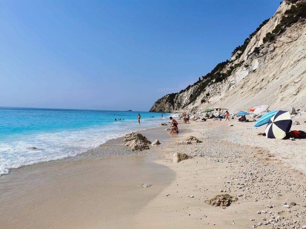 Spiaggia di Egremni_migliori spiagge Lefkada