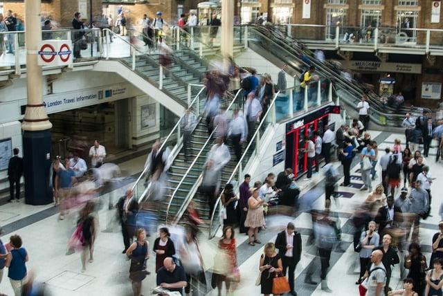 quanto costa vivere a Londra - metro