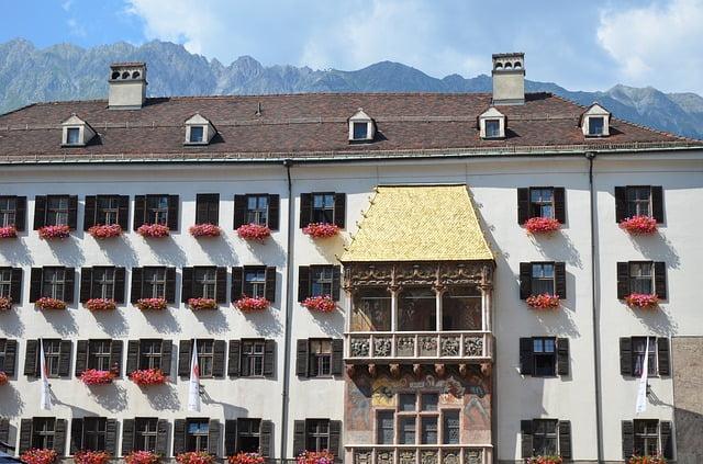Cosa vedere a Innsbruck: Tettuccio d'oro