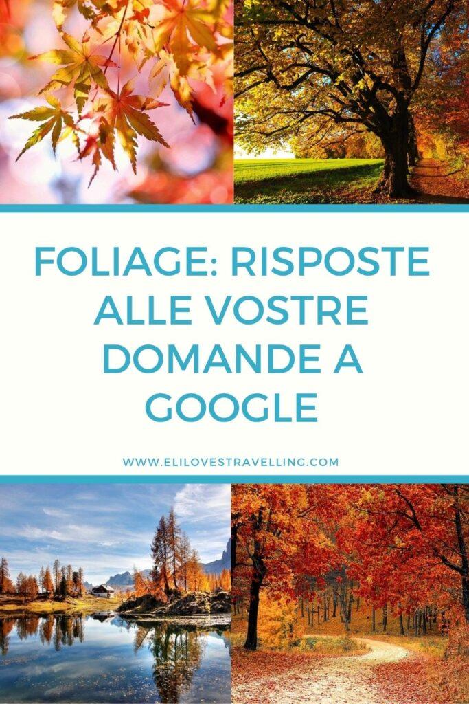 Foliage: le risposte alle 10 domande più cercate su Google 3