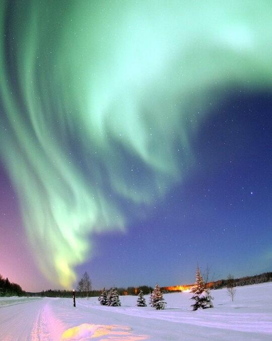 Viaggio romantico: dove e quando vedere le aurore boreali